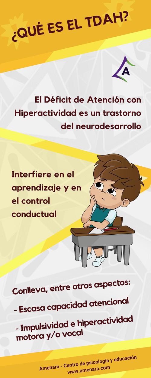 Déficit de Atención e Hiperactividad en Paracuellos de Jarama y Miramadrid