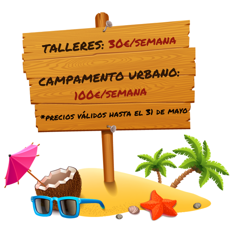 Talleres y campamentos para niños en Paracuellos de Jarama y Miramadrid