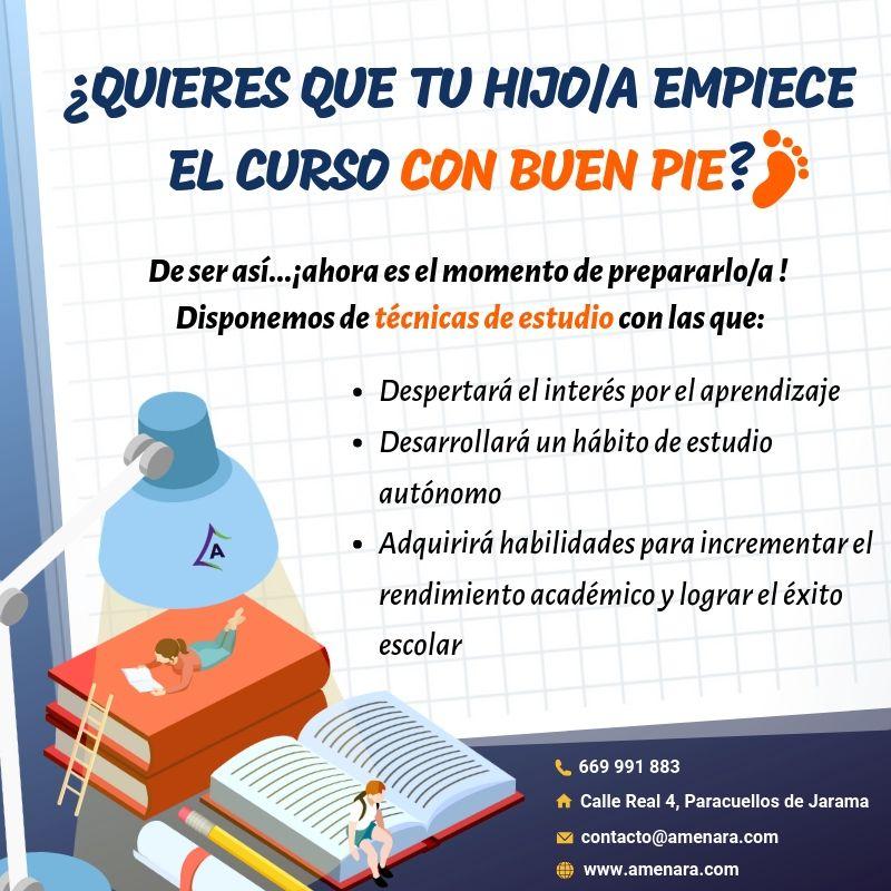 Técnicas de estudio en Paracuellos de Jarama y Miramadrid