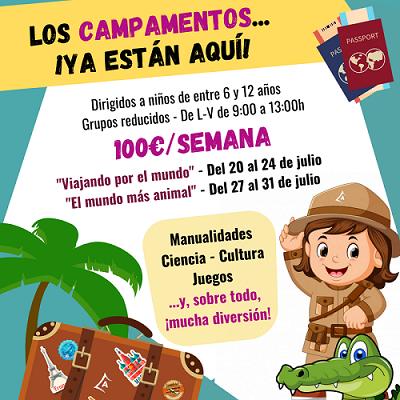 Campamento urbano en Paracuellos de Jarama y Miramadrid